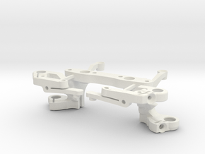 TRAIN AVANT HAUT + TRIANGLES in White Strong & Flexible
