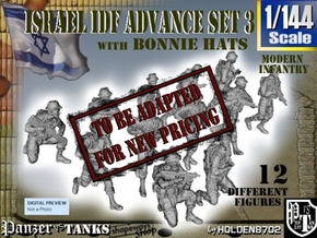 1-144 IDF BONNIE ADVANCE SET 3 in Transparent Acrylic