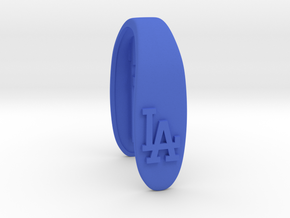 LA DODGERS KEY FOB FOR MINI COOPER F MODEL in Blue Strong & Flexible Polished