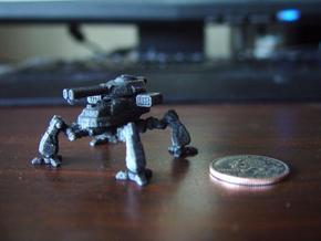 Terran Artillery Walker in Black Acrylic