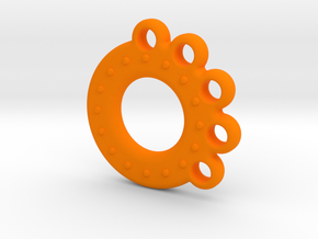 Alvina-T10 (repaired) in Orange Strong & Flexible Polished