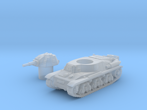 Hotchkiss tank (French) 1/144 in Smooth Fine Detail Plastic