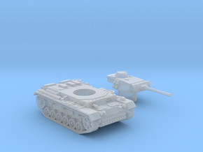Panzer III L (Germany) 1/200 in Smooth Fine Detail Plastic