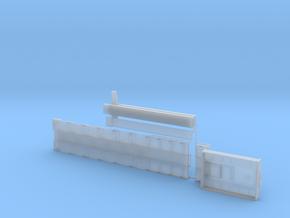 G 003-1 Tieflader ähnlich Goldhofer 6 achs Lang v1 in Smooth Fine Detail Plastic