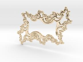Feng Shui Talisman - Raw Silver in 14k Gold Plated Brass