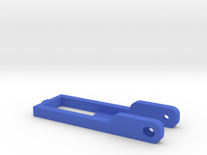 Assistie Key Holder in Blue Processed Versatile Plastic: Small