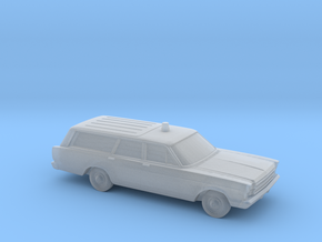 """1/160 1966 Ford Country Wagon """"FireChief"""" in Frosted Ultra Detail"""
