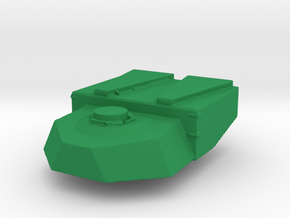 1/87 Scale M1 ABV Turret in Green Strong & Flexible Polished