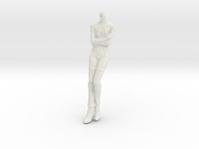 1/16 Macross Frontier Pilot Body for Custom Head in White Natural Versatile Plastic