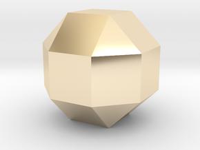 Perfect diamond in 14K Yellow Gold