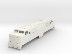 NS 1200, spoor 1,  scale 1:32 in White Natural Versatile Plastic