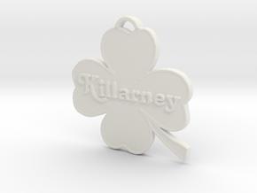 Killarney in White Strong & Flexible: Medium
