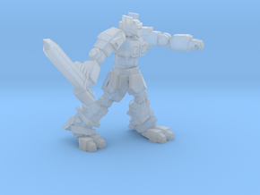 Knight  K1A7 alternate pose 3 in Smooth Fine Detail Plastic
