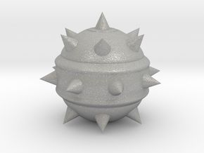 High-Poly Stickybomb (Hollow) in Aluminum: Extra Small