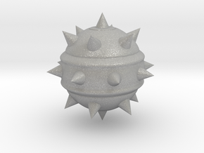 High-Poly Stickybomb (Solid) in Aluminum: Extra Small