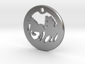 FREEDOM (precious metal pendant) in Natural Silver