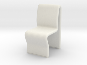 Ten Forward Chair (Star Trek Next Generation) in White Strong & Flexible: 1:30