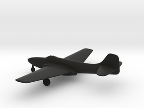 Bell P-59 Airacomet in Black Strong & Flexible: 1:144