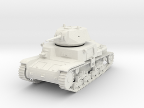 PV41A M13/40 Medium Tank (28mm) in White Natural Versatile Plastic