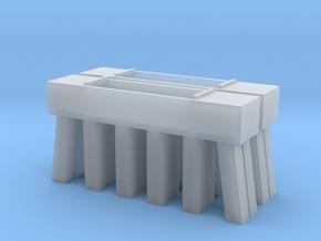 Bridge N Pier Concrete 3 in Smooth Fine Detail Plastic