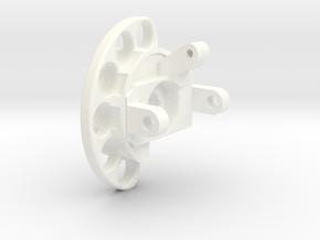 Right Mini in White Processed Versatile Plastic