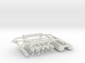 Korund Feld 4,5m / 6m / 7,5m / 9m in White Natural Versatile Plastic