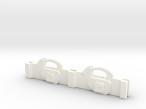 1.6 CARGO BRACKET EC135 (C) in White Processed Versatile Plastic