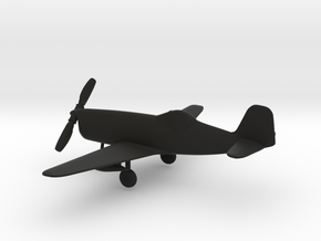 Bell XP-77 in Black Natural Versatile Plastic: 1:96