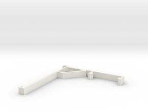 Vertical Valance Panel 805 in White Natural Versatile Plastic