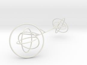 Borromean-inverse in White Natural Versatile Plastic