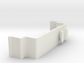 Blind Valance Clip 10F in White Natural Versatile Plastic