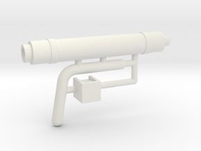 1/16 Panzer IV Auxillary Exhaust in White Natural Versatile Plastic