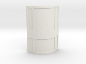 Wall, Corner, Convex (Space: 1999), 1/30 in White Natural Versatile Plastic