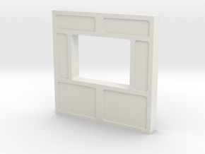 Wall, Interior, Window - Small (Space: 1999) 1/30 in White Natural Versatile Plastic