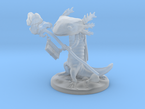 Aanuuv The Axolotl Wizard in Smooth Fine Detail Plastic