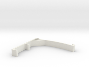 Vertical Valance Panel 860 in White Strong & Flexible