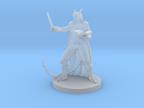 Tiefling Wizard in Frosted Ultra Detail