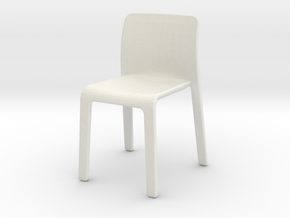 Chair, Miscellaneous (Space: 1999), 1/30 in White Natural Versatile Plastic