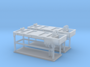 Autopsy Table 01. N Scale (1:160) in Smoothest Fine Detail Plastic