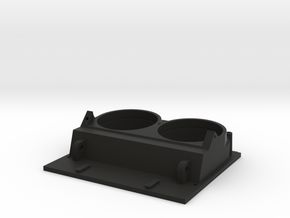 K14 Gunsight Top Plate  in Black Natural Versatile Plastic