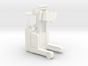 Docking Bay Forklift, 1:43 in White Processed Versatile Plastic