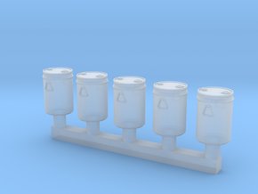 TJ-H02015x5 - Futs 30l a bondes in Smooth Fine Detail Plastic