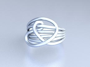 HeliX Love & Life Ring - Ring in Polished Silver