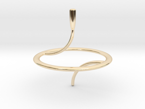 Less Is More Spinning Top (small) in 14K Yellow Gold