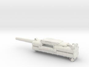 MK108 Machine Gun in 1:6 in White Natural Versatile Plastic