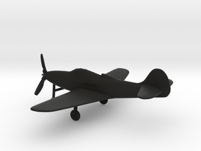 Bell P-39 Airacobra in Black Strong & Flexible: 1:144