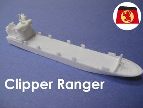 MS Clipper Ranger (1:1200) in White Natural Versatile Plastic: 1:1200