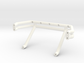 Bigfoot 1 Roll Bar in White Strong & Flexible Polished