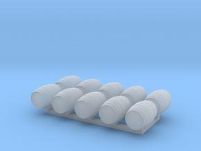 TJ-H02022x10 - Tonneaux 225l bordeaux in Smooth Fine Detail Plastic