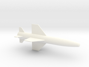 1/87 Scale Popeye Missile in White Processed Versatile Plastic